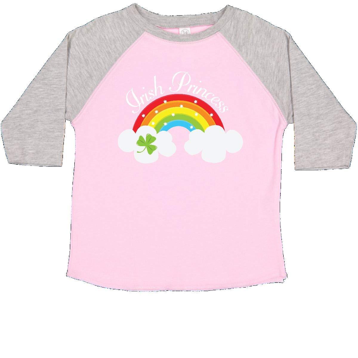 inktastic Irish Princess St Patricks Day Rainbow Toddler T-Shirt