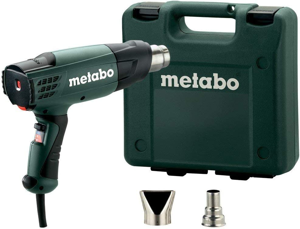 Metabo HE 20-600 - Pistola de Aire Caliente 2000 W, maletín