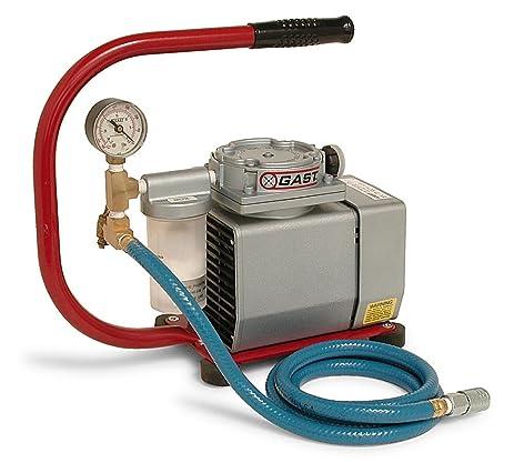 MK Diamond 154741 Manta Vacuum Pump-115V with Handle & ISO-vibe Foot Pads