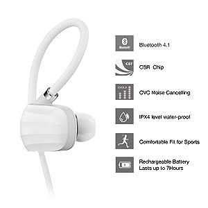 In Ear Bluetooth Kopfhörer unter 50 Euro, die GGMM W710