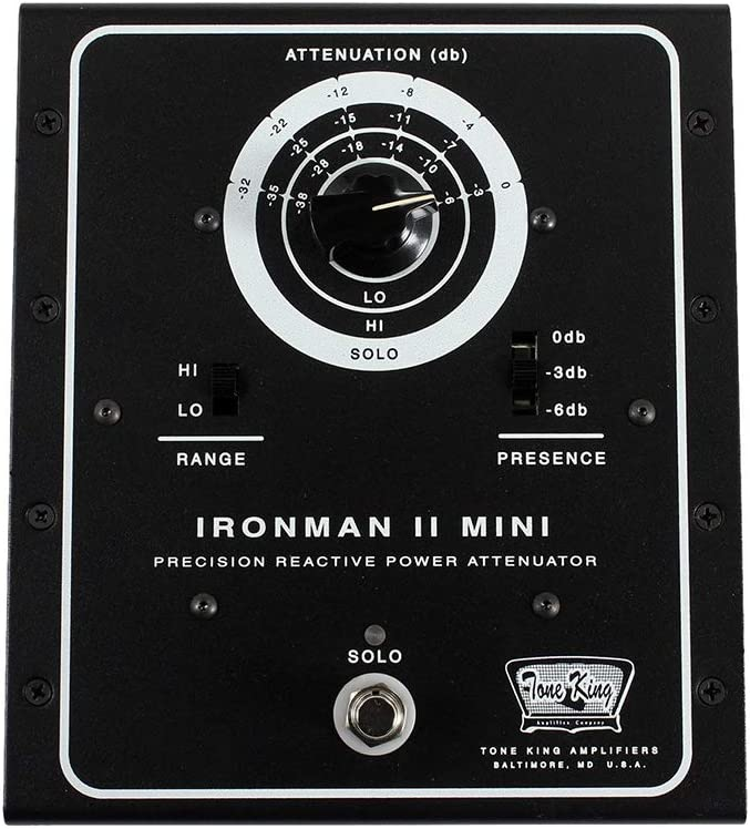 Tone King Iron Man II Mini Attenuator