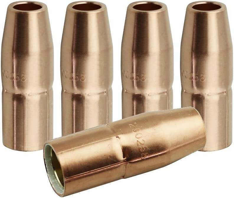 Miller Electric Wire Nozzle 052-075 Gasless Lined Copper nozzle GA-40GL GL25 $25