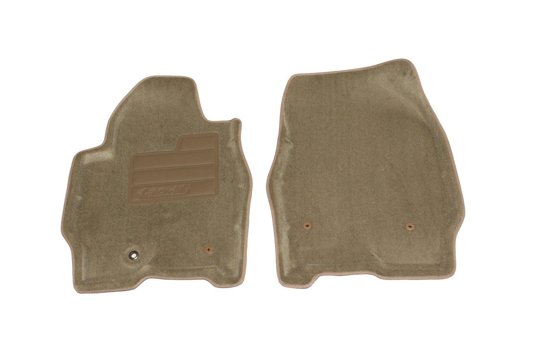Set of 2 Lund 607246 Catch-All Carpet Beige Front Floor Mat