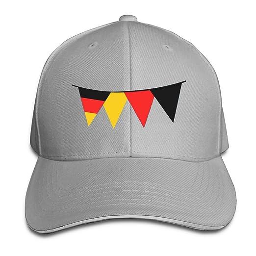 33ac2b88658a Aec Football Fans Hats Fashion Unisex Germany Flag Bunting Baseball ...