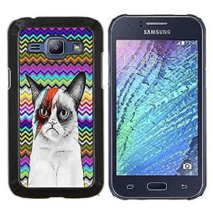 Dragon Case - FOR Samsung Galaxy J1 J100 J100H - Not only about survival - Caja protectora de pl??stico duro de la cubierta Dise?¡Ào Slim Fit