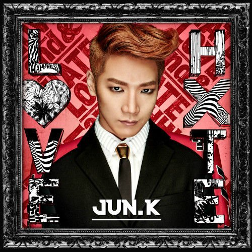 2PM JUN.K [LOVE&HATE] Japanese Solo Album CD+Photobook+6p Postcard+Tracking Number K-POP SEALED