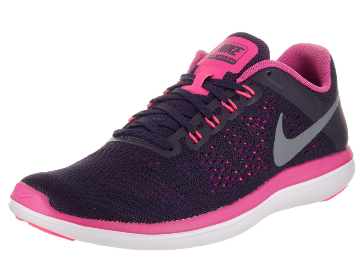 NIKE Women's Flex 2016 Rn Running Shoes B01CJ2TGAG 8.5 B(M) US|Purple Dynasty/Cool Grey/Fire Pink/White