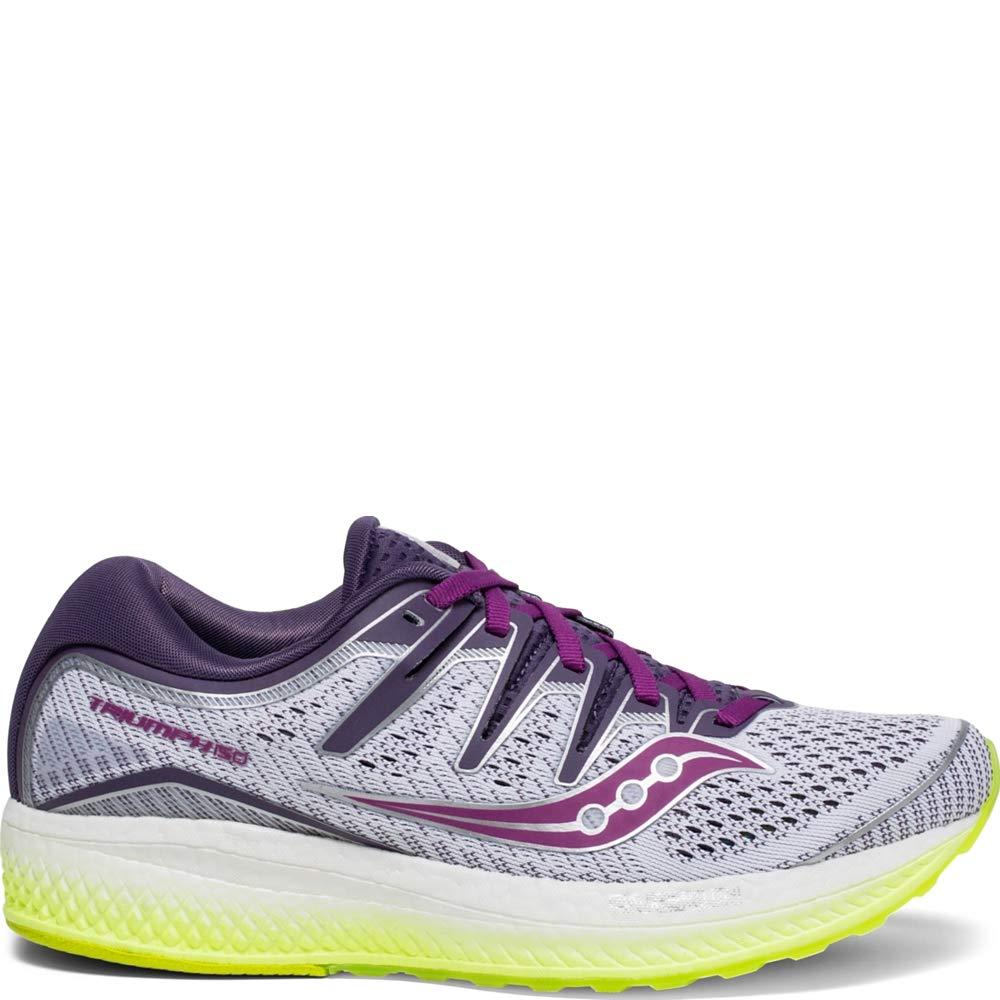 Saucony Triumph ISO 5 Women 5 White | Purple | Citron