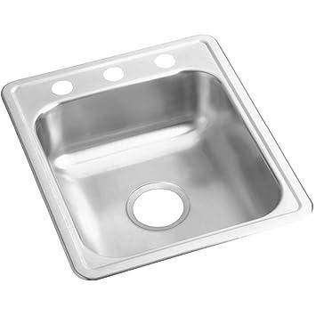 Genial Dayton D117213 Single Bowl Top Mount Stainless Steel Bar Sink