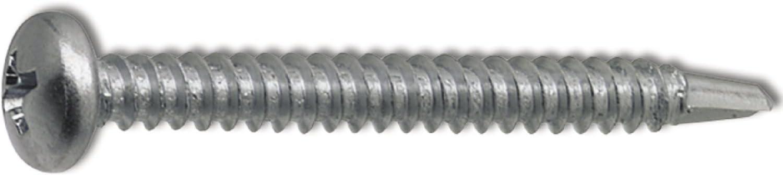 verzinkt SECOTEC Bohrschraube Linsenkopf DIN 7504 N 4,8X25 100 St/ück