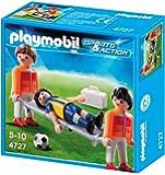 Playmobil 4727- Fútbol Camillerojugad.Lesionad