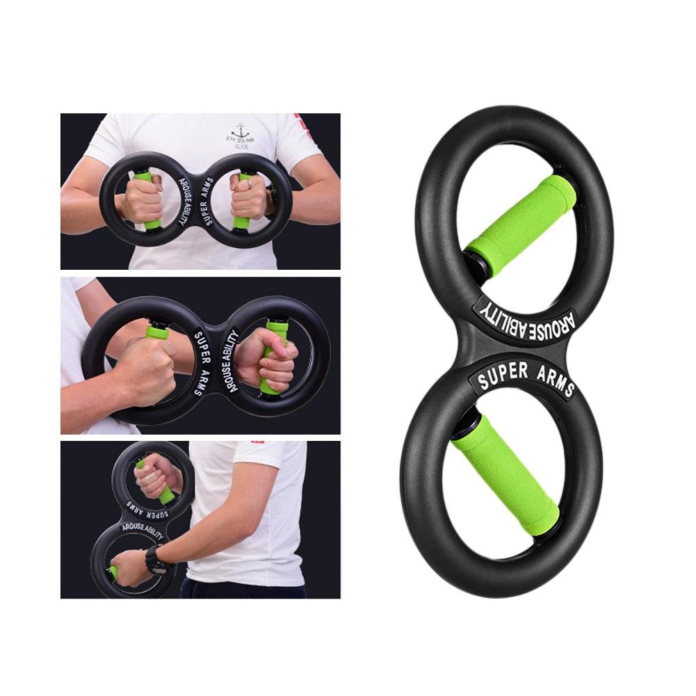 ZHUOTOP Unisex Wrist Force Ring Device Arm Strength Training Fitness Equipment