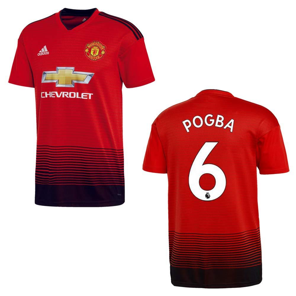 Adidas Manchester United Trikot Home Kinder 2018 2019 - Pogba 6