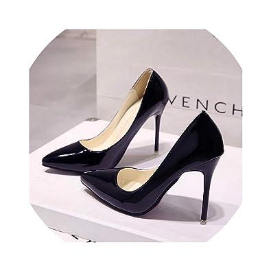 e41615117a9 Amazon.com | Sexy Lady Women Shoes Pointed Toe Pumps Patent Leather ...