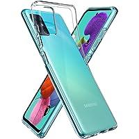 Spigen Liquid Crystal Compatibel met Galaxy A51 hoesje, Transparant TPU siliconen gsm-hoesje Krasbestendig beschermhoes…
