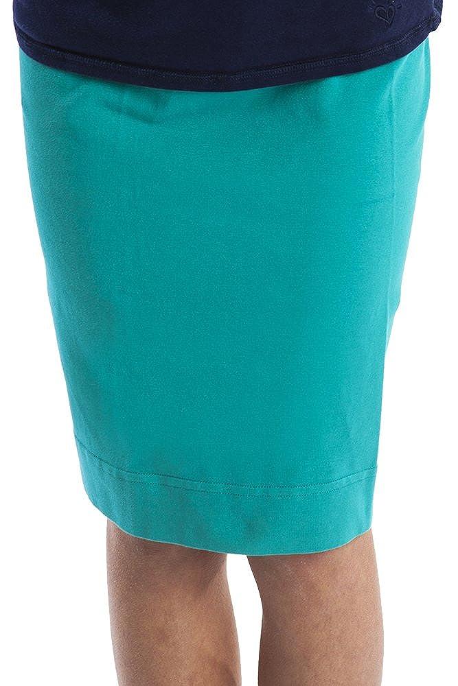 Hard Tail GIRLS pencil knee skirt marine