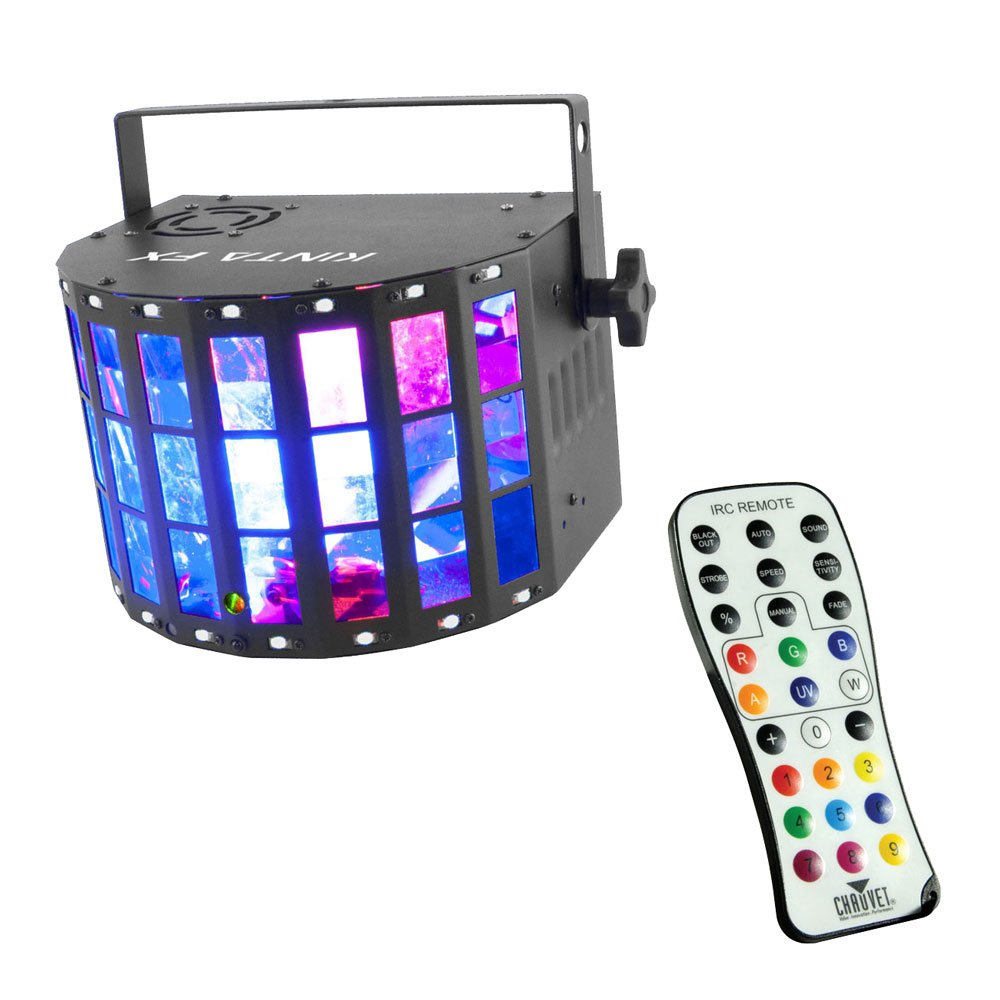 Chauvet Kinta FX 3-in-1 LED Multi-effects Fixture with a Chauvet IRC Remote