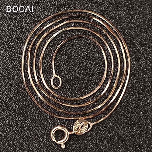 (925 Silver Rose Octagonal Chain | Silver Chain (40cm))