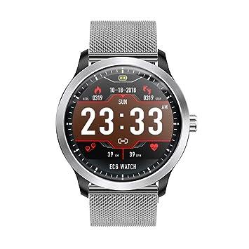 HCWH Reloj Inteligente ECG PPG con Pantalla de ...
