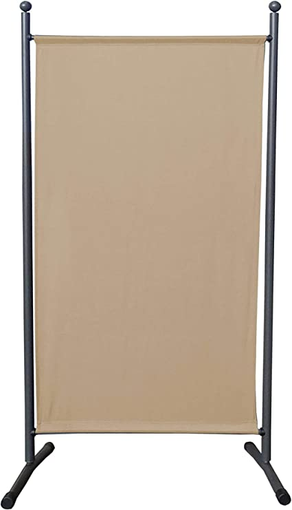 QUICK STAR Paravento da Giardino 150 x 190 cm Divisorio in Tessuto Balcone Protezione della Privacy Verde