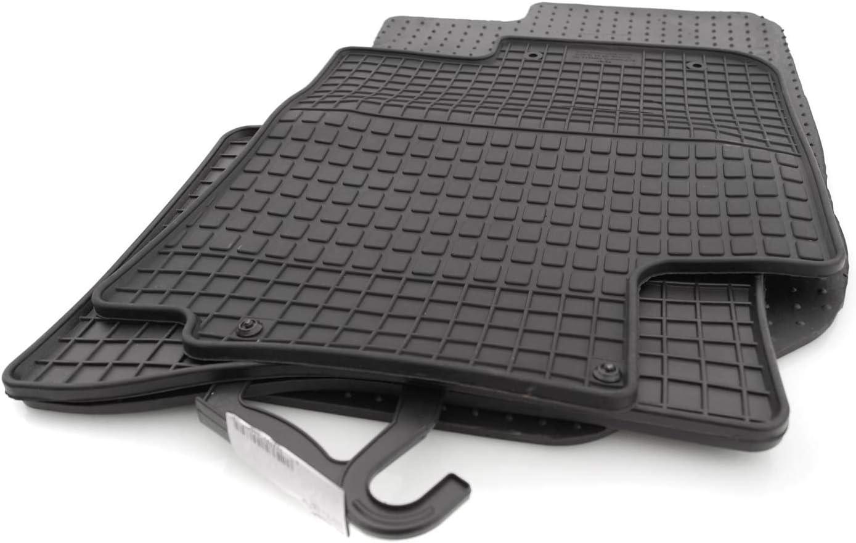 Kh Teile Gummimatten I20 Passform Gummi Fußmatten Set 4 Teilig Schwarz Auto