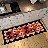 Boyang Carpet Nordic Household Absorbent Strip Of Carpets Kitchen Bedside Window Machine Embroidered Mat Non-slip Strip Mat, Size: 40 120cm (Color : 2)