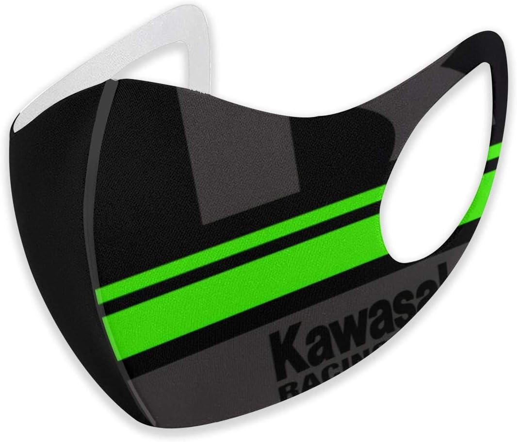 Kawasaki - Mascarillas Decorativas para Montar al Aire Libre, cálidas, Transpirables y Lavables