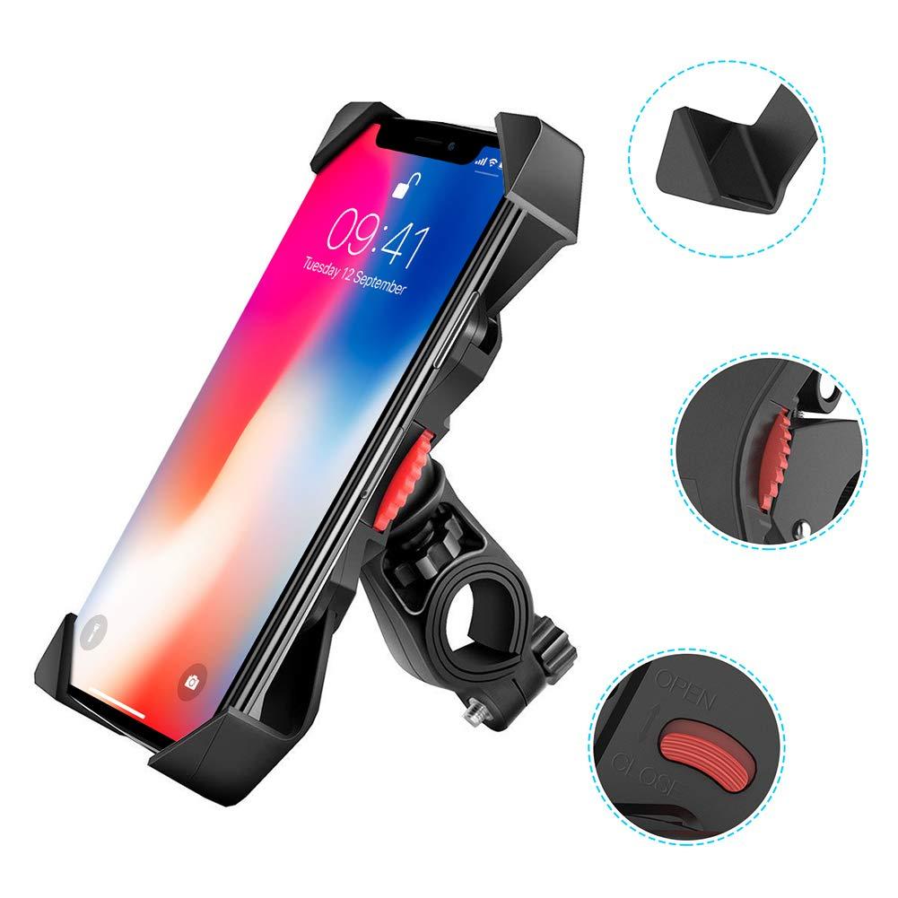 AimdonR Soporte para teléfono móvil, Giratorio 360°, antichoque y ...