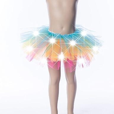 LED Tutu KidsBabies Light Up Tutu Girls Birthday Clothes Dress up for girls Dance attire for girls