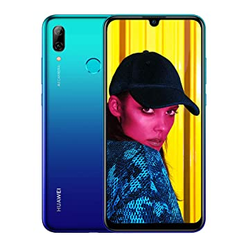 Huawei P Smart 2019 64 GB 6 21-Inch 2K FullView Dewdrop SIM-Free Smartphone  with Dual AI Camera, Android 9 0, Single SIM, UK Version - Aurora Blue