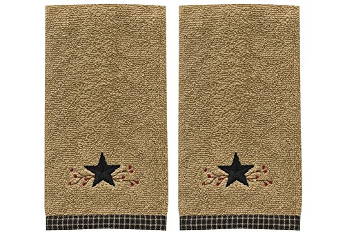 Star Vine Fingertip Towel - Set of 2