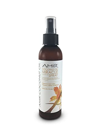 Amir Coconut Oil Miracle Leave-In Spray, 5.8 Fl Oz