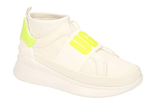 29d2e8465b5 UGG - Neutra Sneaker 1110084 - Coconut Milk neon Yellow: Amazon.co ...