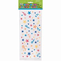 Stars Cellophane Bags, 20ct