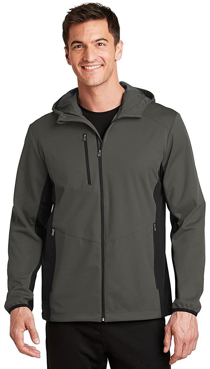 J719 Port Authority Active Hooded Soft Shell Jacket
