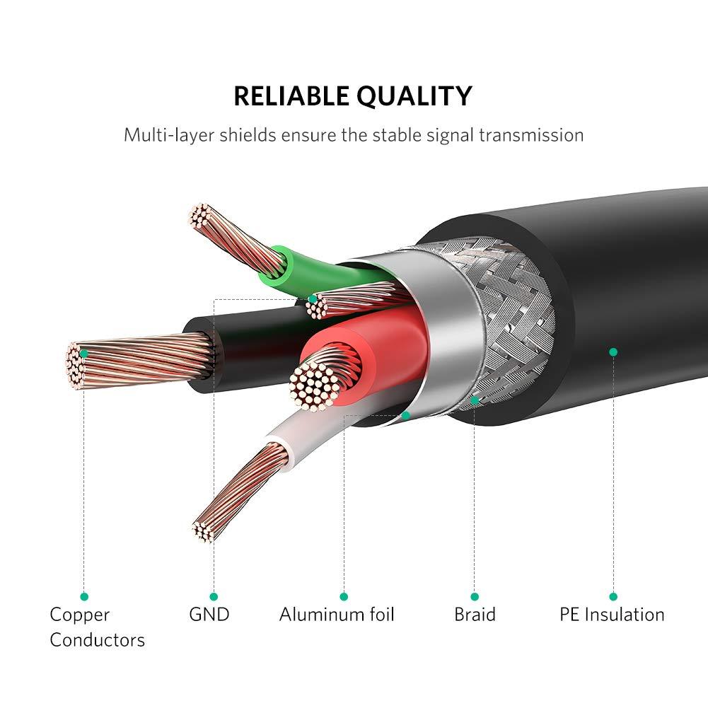 UGREEN Cable Impresora USB 2.0 Tipo A a Tipo B 1.5 Metros para HP, Epson,Canon, Brother, Lexmark, Samsung, Escáner, Disco Duro, Fotografía Digital y ...