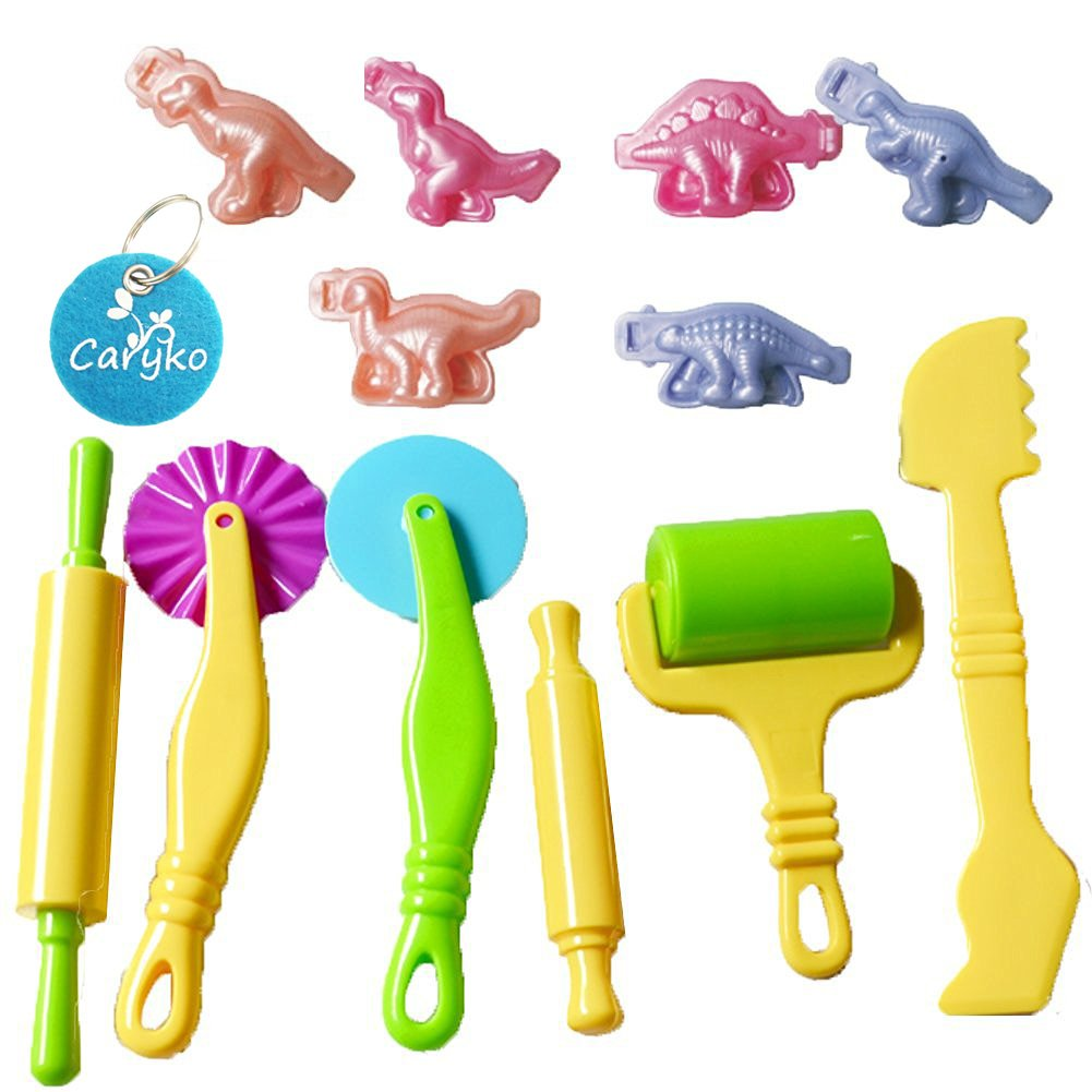 Carykon Insect Smart Dough Tools Kit with Models and Molds, Set of 12 4336898885