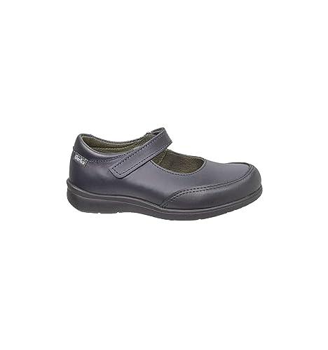 Zapatos Gorila - Colegial Niña Merceditas - Azul Marino, 25
