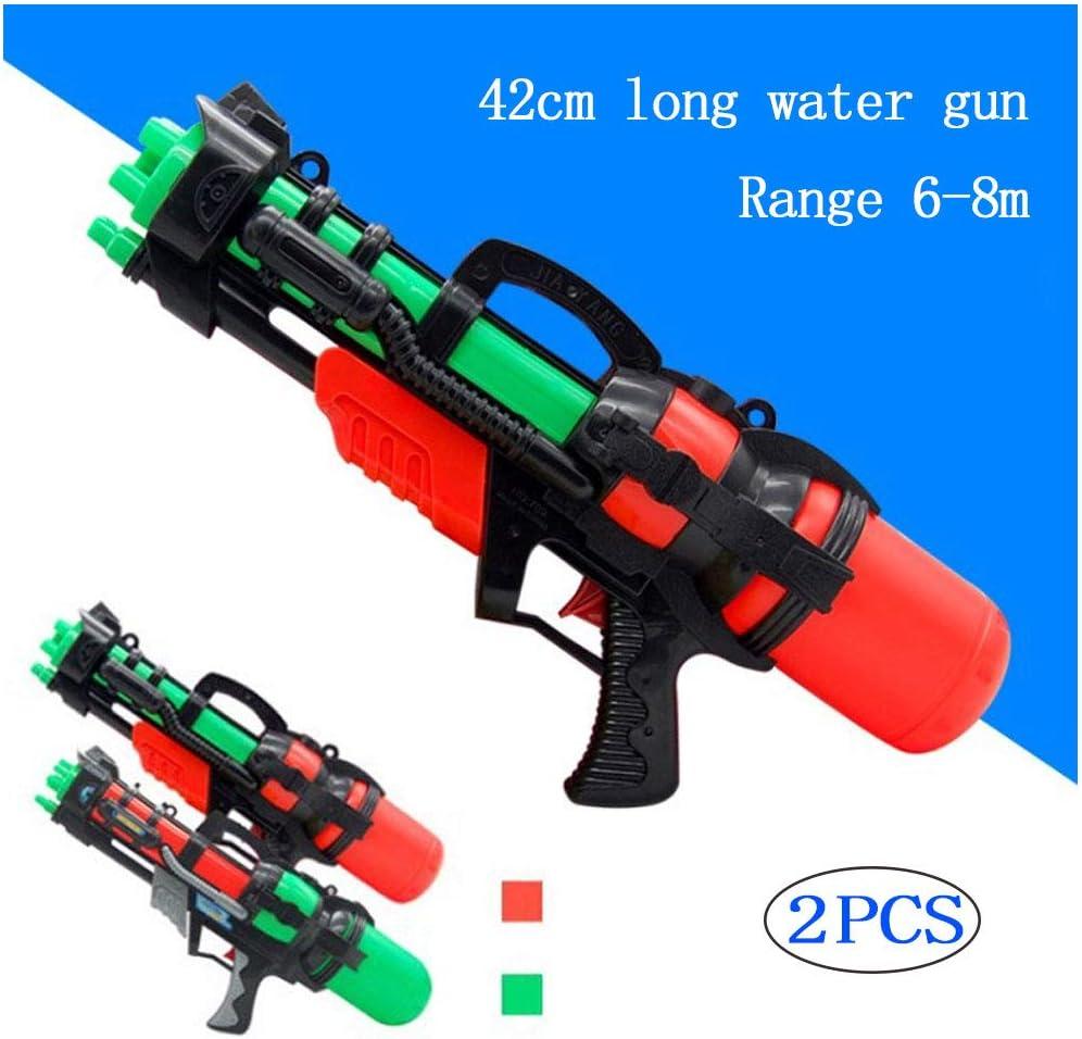 Rclhh Pistolas de Agua,2 Pack Water Blaster Super Pistola de Agua ...
