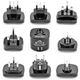 Amazon Price History for:Bestten International Adapter Set with 2 USB Charging Ports 2.1A. Worldwide Travel Power Converters (US, UK, Europe, China, Australia, New Zealand, South Africa, India) Universal 9-Pc Pack