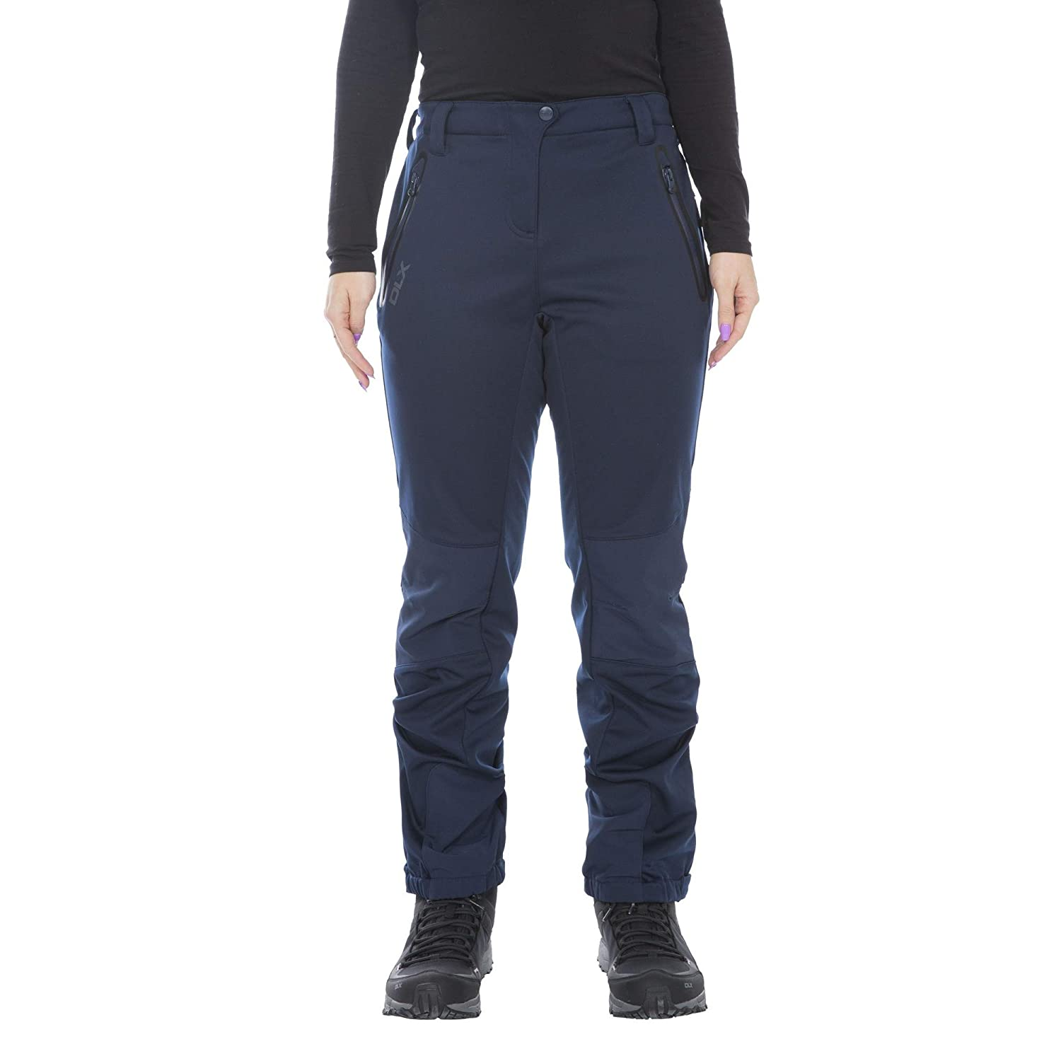 Trespass Womens Ladies Sola Softshell Outdoor Pants (M) (Navy)