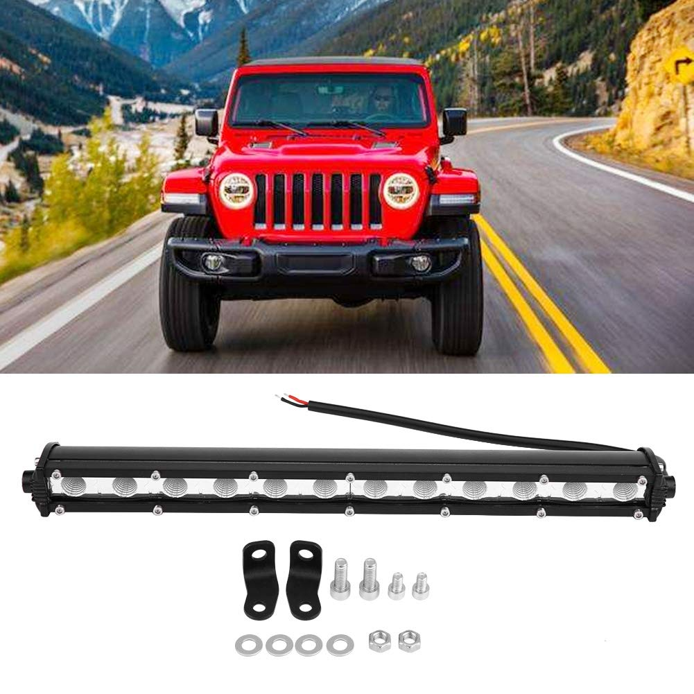 EBTOOLS LED Light Bar Driving Lamp Work Light Driving Fog Lamp for Car Truck Offroad SUV 13 Inches 36W Slim