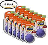 PACK OF 12 - Hartz Dura Play Small Ball Dog Toy, 1ct