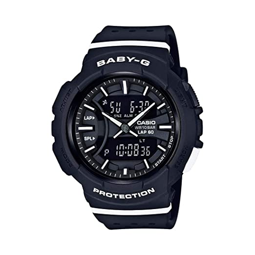 269ffda4c28c Buy Casio Baby-g Analog-Digital Black Dial Women's Watch-BGA-240-1A1DR  (B187) Online at Low Prices in India - Amazon.in
