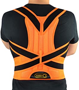 Back Brace Posture Corrector for Women Men & Improves Posture and Provides Lumbar Support for Lower and Upper Back Pain S