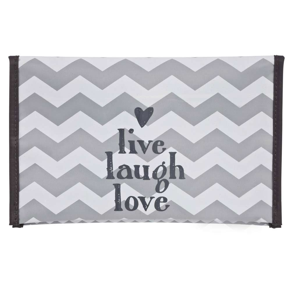 Bébé-Jou Chevron Grey - Guardapañales plastificado Bebe-jou 310231