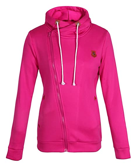 CZGBT Women s Lightweight Thin Pullover Hoodie Zip Jacket With Plus Size  (M e9e94b9a3494