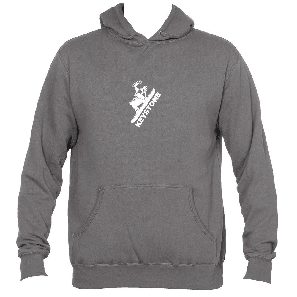 Mens Hooded Sweatshirt//Hoodie Colorado Snowboarding Keystone