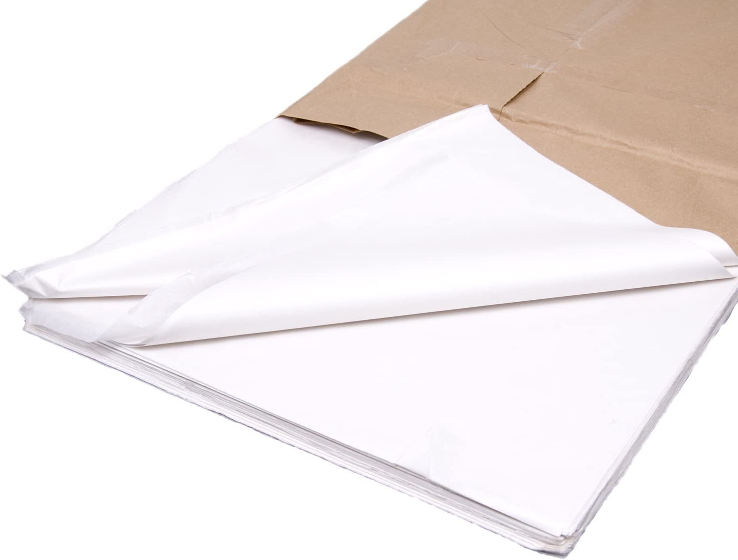 480 Sheets Yellow Tissue Paper 500x750 Acid Free