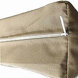 FLYMEI Patio Cushion Covers 20X18, Outdoor Cushion